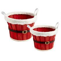 Santa Belt Basket