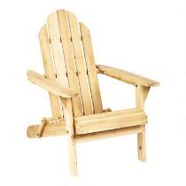 Folding Classic Adirondack Chair