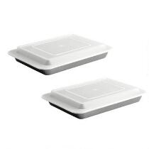 Cake Pans with Lids, Set of 2
