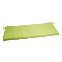 Solid Green Indoor/Outdoor Bench Seat Pad