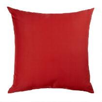 Solid Red Indoor/Outdoor Floor Cushion