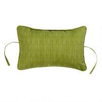 Solid Green Indoor/Outdoor Headrest Pillow