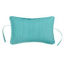 Teal Indoor/Outdoor Headrest Pillow