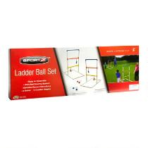 Indoor/Outdoor Ladder Ball Toss Game Set