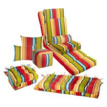 Fiesta Stripe Indoor/Outdoor Chair Cushions Collection