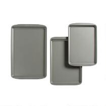 Farberware® Nonstick Sized Cookie Sheets Set, 3-Piece
