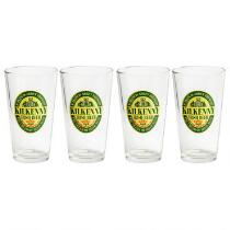 Kilkenny Irish Beer Pilsner Glasses, Set of 4