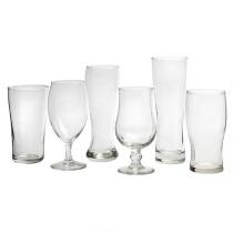Craft Brews Beer Glasses Set, 6-Piece