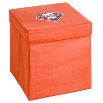 MLB Philadelphia Phillies Storage Ottoman