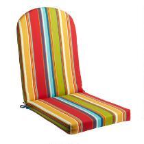 Fiesta Stripe Indoor/Outdoor Adirondack Chair Pad