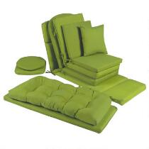 Solid Green Indoor/Outdoor Chair Cushions Collection