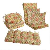 Desert Tile Indoor/Outdoor Chair Cushions Collection