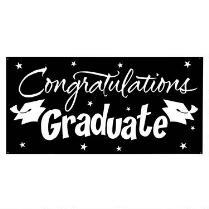 2.75'x5' Graduation Party Sign