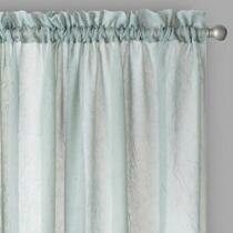Crushed Voile Curtains, Set of 2