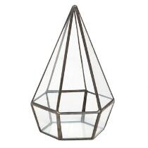 Metal Waterproof Diamond Terrarium