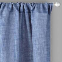 Alexander Solid Rod Pocket Window Curtains, Set of 2