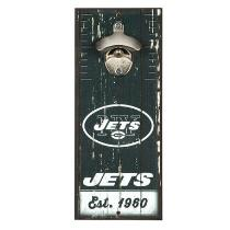"5""x12"" New York Jets Beer Bottle Opener Wall Decor"