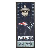 "5""x12"" New England Patriots Beer Bottle Opener Wall Decor"