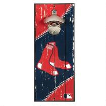 """5""""x12"""" Boston Red Sox Beer Bottle Opener Wall Decor"""