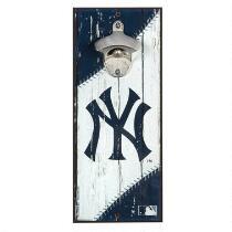 "5""x12"" New York Yankees Beer Bottle Opener Wall Decor"