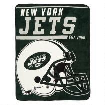 NFL New York Jets Plush Throw Blanket