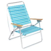 3-Position Striped Sand Chair