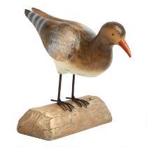 "7"" Brown Bird Decor"