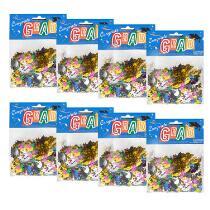 Graduation Party Confetti Bags, Set of 8