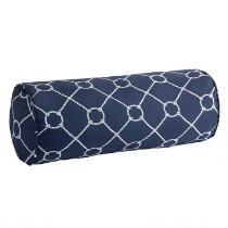Nautical Knots Indoor/Outdoor Lumbar Roll Pillow