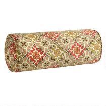 Desert Tile Indoor/Outdoor Lumbar Roll Pillow