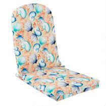 Seashells Indoor/Outdoor Adirondack Chair Pad