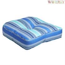 Waverly® Cobalt Stripe Indoor/Outdoor Single-U Seat Pad