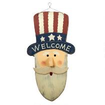 "19"" ""Welcome"" Uncle Sam Wall Decor"