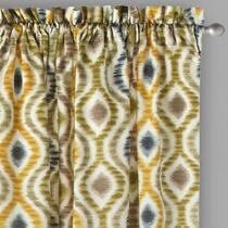 """Traditions by Waverly® 84"""" Optical Window Curtains, Set of 2"""