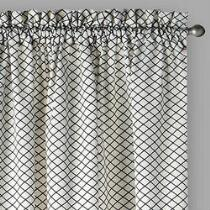 """Traditions by Waverly® 84"""" Georgette Window Curtains, Set of 2"""
