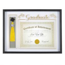 """13.5""""x18"""" """"Graduate"""" Certificate and Tassel Frame"""