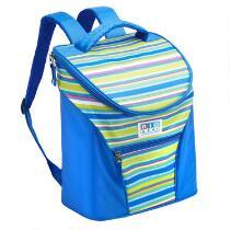Blue Stripe Backpack Cooler
