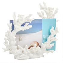 "4""x6"" Coastal Coral Picture Frame"