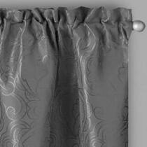 Jacquard Floral Window Curtains, Set of 2