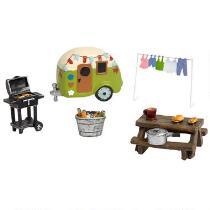Once Upon a Garden™ Camper Miniature Set, 6-Piece