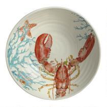 Coastal Living Seascapes™ Red Lobster Ceramic Serving Bowl