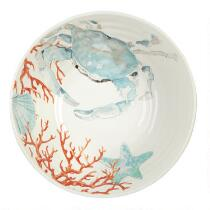 Coastal Living Seascapes™ Blue Crab Ceramic Serving Bowl
