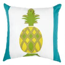 Pineapple Indoor/Outdoor Square Throw Pillow