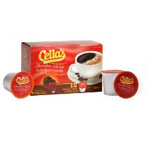 Cella's® Chocolate Cherry Coffee Pods, 6 Boxes