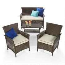 Melbourne Outdoor Patio Chat Set, 4-Piece