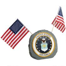 """12.75"""" United States Air Force Garden Rock"""