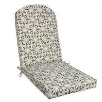 Black Medallion Indoor/Outdoor Adirondack Chair Pad