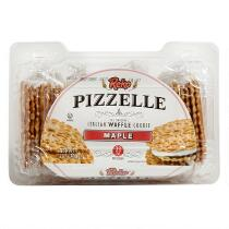 Pizzelle Maple Italian Waffle Cookies, 12 Boxes