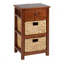 Summit 2-Basket/1-Drawer Storage Cabinet