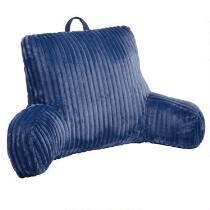 Solid Ridged Backrest Pillow